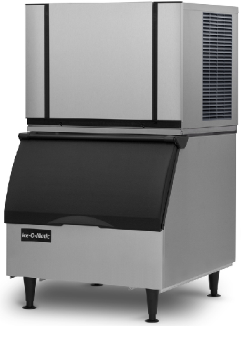 Ice-O-Matic Ice Cube Maker 132kg Production With 110kg Storage Bin