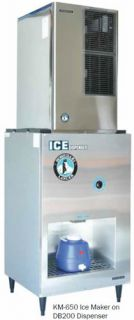 Hoshizaki Ice Dispenser for Hotel With KM-650 Ice Maker 90kg Storage