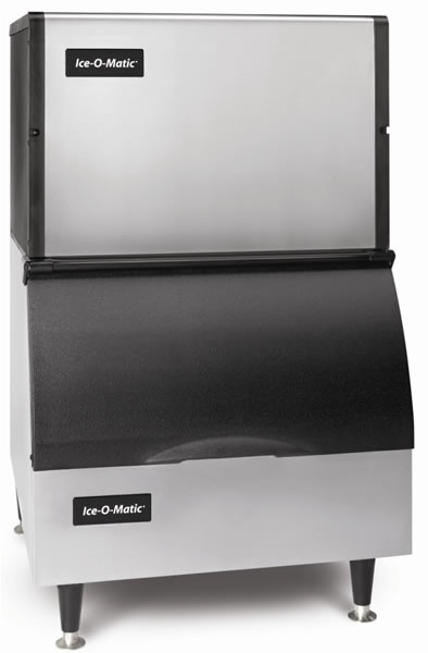 Ice-O-Matic Ice Cube Maker 164kg Production With 110kg Storage Bin