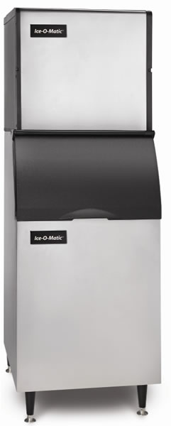 Ice-O-Matic Ice Cube Maker 137kg Production With 160kg Storage Bin