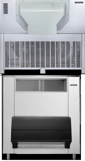 Scotsman Modular Scale Ice Maker 1300kg - 1450kg Production With 812kg Storage