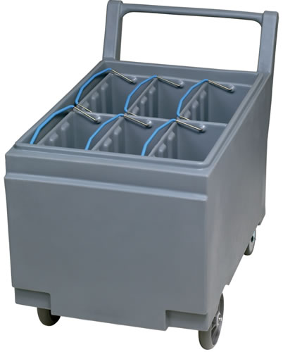 Follet Smart Cart Transports 109kg of Ice Available With 6 Totes