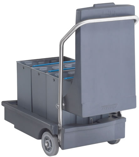 Follett Smart Cart With Totes