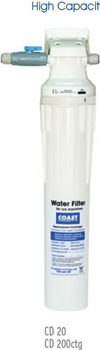 Coast High Capacity Filter System With 1 x CD200 Cartridge