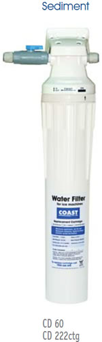 Coast High Capacity Filter System With 1 x CD222 Cartridge