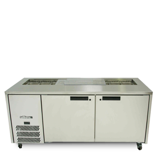 Williams Emerald HE2UFBBA Prep fridge