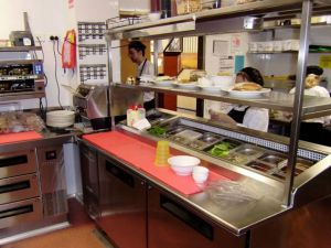 Custom Made Kitchen <br />Dome Cafe Kitchen Prep