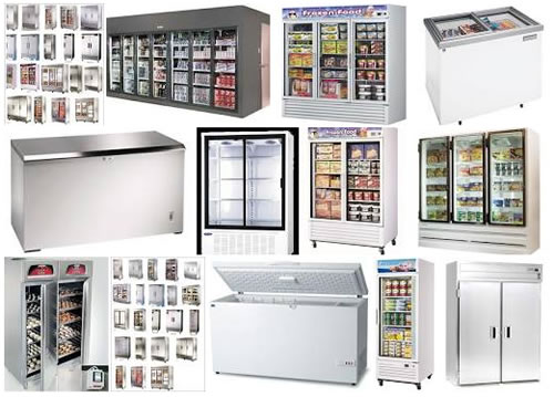 Freezers Cabinets