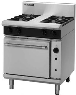 Blue Seal 4 open Burner with gas Convection Oven
