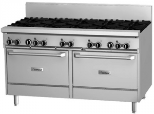 Garland 1500mm 10 Burner & Double Gas Convection Oven Range
