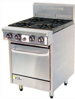 Goldstein 4 open burner gas Fan Forced Oven Range