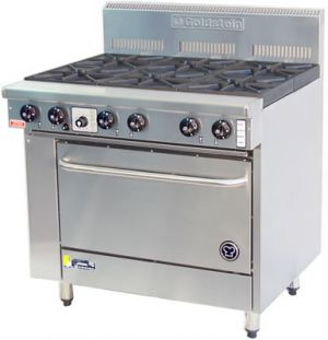 Goldstein 6 burner gas Convection Oven Range