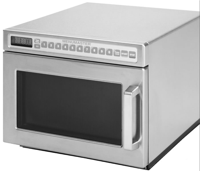 Menumaster Heavy Duty Microwave Oven 100 memory Programmable