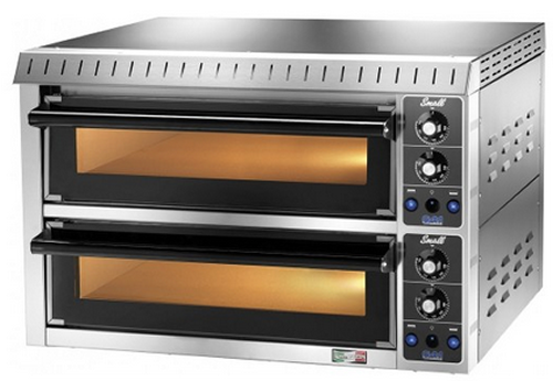 Gam Small 1 + 1 DOUBLE DECK STONE DECK OVEN