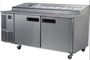 Skope Pegasus double door Pizza Prep Fridge HIGH PERFORMANCE