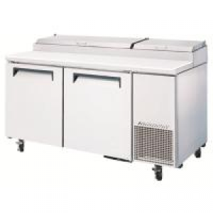 Turbo Air 2 Door Pizza Prep Fridge CTPR-67SD