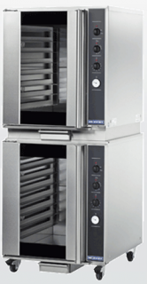 Turbofan 8 rack capacity electric Prover Double Stacked