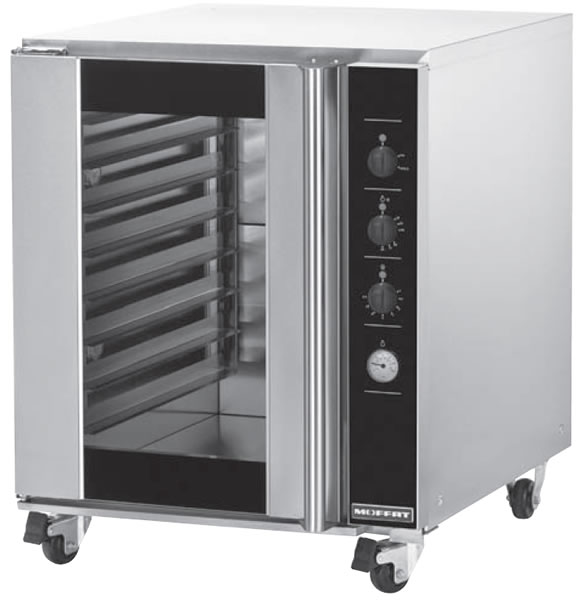 Turbofan 8 rack capacity electric Prover
