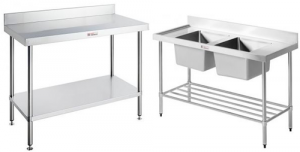 Stainless Steel Benches, Trolleys & Equipment