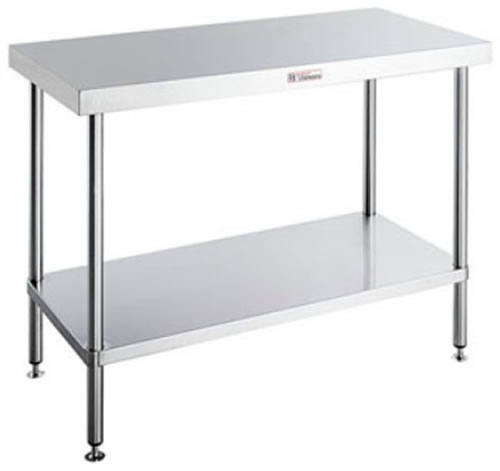 Simply Stainless <br />600mm x 600mm flat workbench