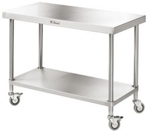 Simply Stainless <br />1200mm x 600mm Mobile Work Bench