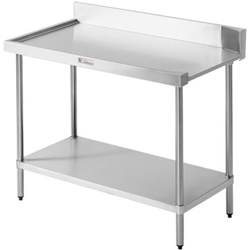 Simply Stainless <br />1200mm x 600mm Left Hand Exit Dishwasher Bench