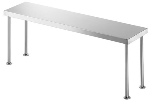 Simply Stainless <br />1200mm x 300mm Single Overbench Shelf