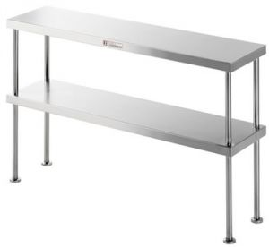 Simply Stainless <br />1200mm x 300mm Double Overbench Shelf