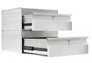 Simply Stainless Steel Drawers SS19.0200
