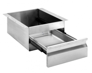 Simply Stainless Steel Drawers SS19-GN