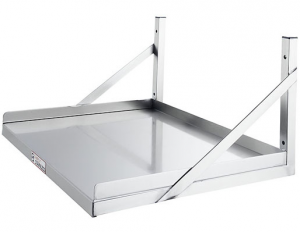 Simply Stainless Microwave / Appliance Shelf 450mm Deep