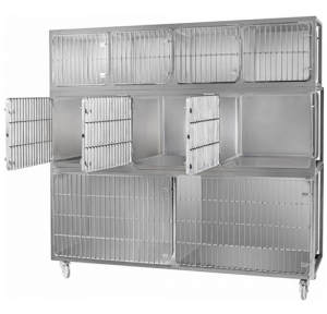 Simply Stainless Vet Cage