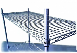 Atlas 610mm Wide x 455mm Deep Wire Shelf Add On Kit