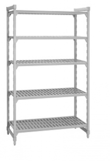 Camshelving 4 tier starter unit 610mm Wide x 460mm deep