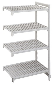 Camshelving 4 tier add on unit 1070mm Wide x 460mm deep
