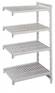 Camshelving 4 tier add on unit 610mm Wide x 460mm deep