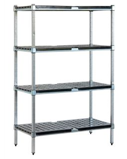 Mantova Real Tuff 750mm wide x 525mm deep 4 tier