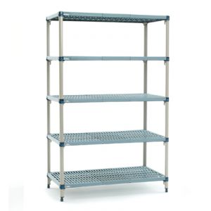 455mm Deep x 610mm Wide MetroMax Q Shelving Kit 4 Tier