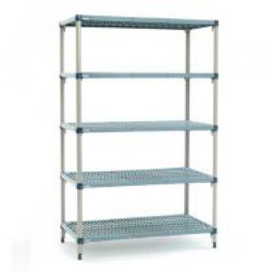 610mm Deep x 915mm Wide MetroMax Q Shelving Kit 5 Tier