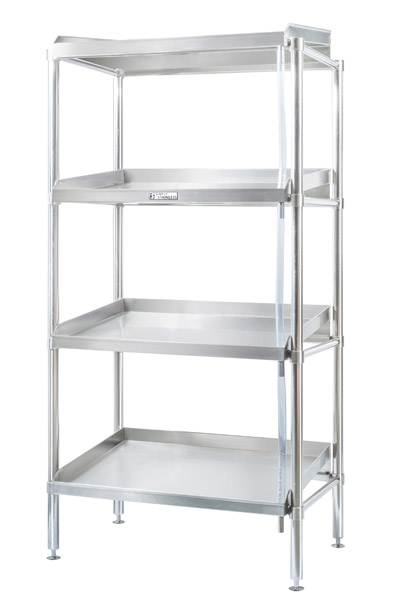 Simply Stainless Defrost 4 Tier Stainless Steel Shelving Unit 1200mm Wide