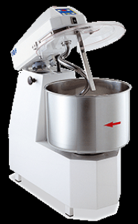 IGF 35 Litre Spiral Dough Mixer 2400T Lift Up Head