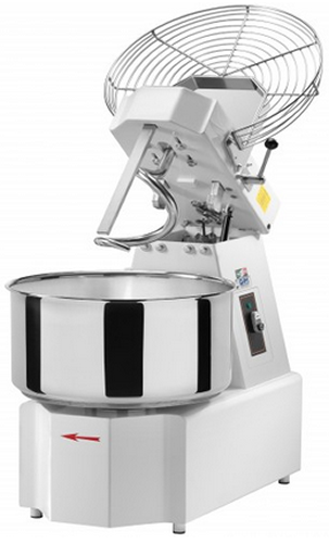 Gam IKARO Spiral Dough Mixer with 30 Litre Bowl Liftable Head