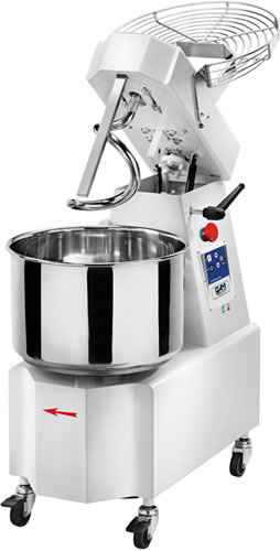 Gam IKARO Spiral Dough Mixer with 32 Litre Bowl Liftable Head