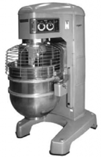Hobart 140Lt floor standing planetary dough mixer with electronic control