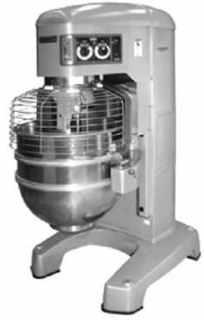 Hobart 80Lt floor standing planetary dough mixer with electronic control