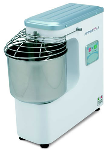 Mecnosud Spiral Dough Mixer fixed Head 7 litre Bowl