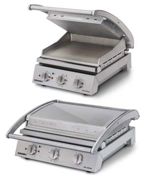 Roband 6 Slice Grill Station With Ribbed TOP plate