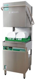 Eswood Vertical Pass through Dishwasher 540 piece per hour
