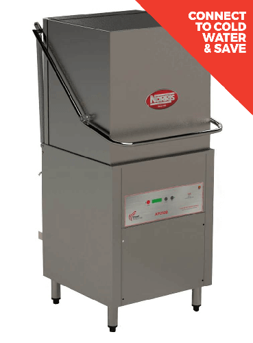 Norris AP2500 Vertical Pass Through Dishwasher