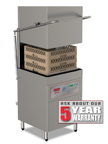 Norris BTC 600 AWC Vertical Passthrough Dishwasher